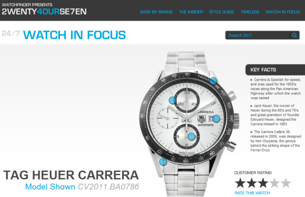 Review TAG Heuer Carrera.